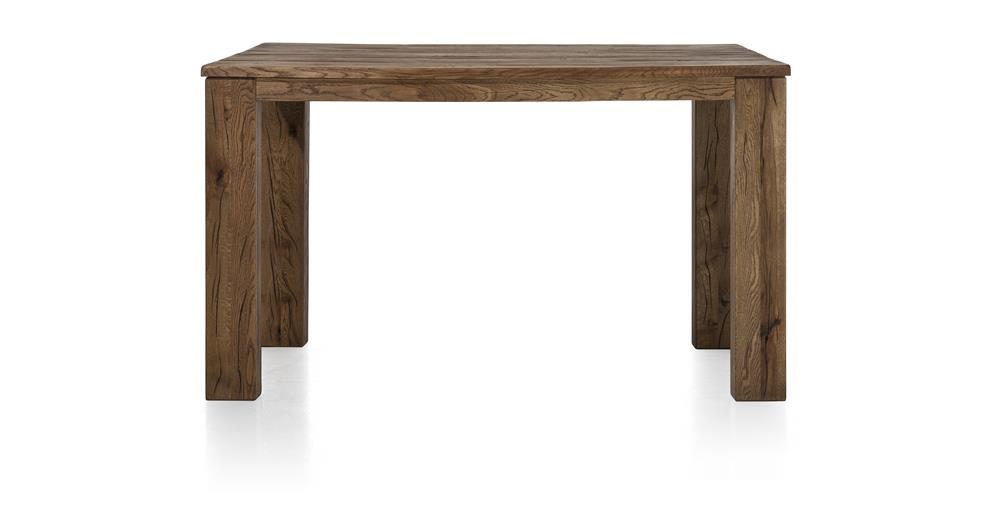 Masters Bespoke Medium Fixed Top Bar Tables in Solid Oak-fixed top table-Against The Grain Furniture-90 x 160cm-Vintage Summer Grey-12 x 12 Wood-Against The Grain Furniture