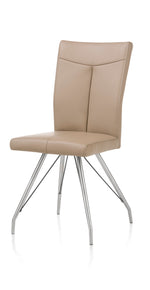 Habufa Aline Taupe Swing leg chair