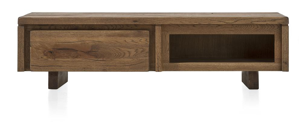 Masters Bespoke TV Media Stands in Solid Oak-Tv media stands-Against The Grain Furniture-140-Vintage White-Wooden Legs-Against The Grain Furniture