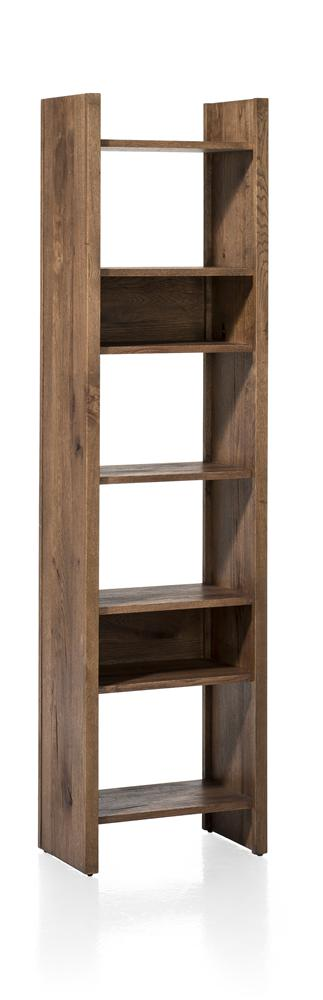 Masters Bespoke Bookcases in Solid Oak-Bookcase-Against The Grain Furniture-Against The Grain Furniture