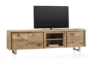 Masters Bespoke Lowboards in Solid Oak-TV lowboards-Against The Grain Furniture-Against The Grain Furniture
