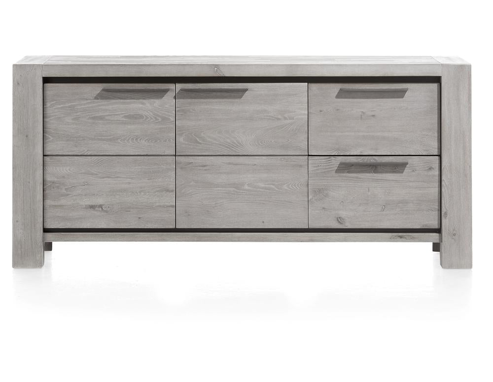 habufa grey sideboard