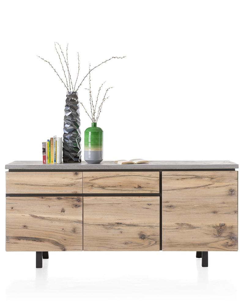 Habufa Myland Sideboard-sideboards-Against The Grain Furniture-1.90-Concrete-Against The Grain Furniture