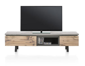 Habufa Myland TV Sideboard-TV sideboards-Against The Grain Furniture-1.80-Concrete-Against The Grain Furniture