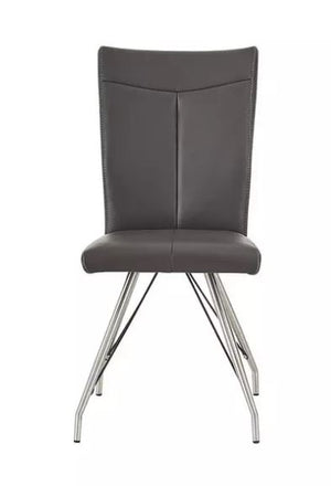 Habufa Aline Anthracite Swing leg chair