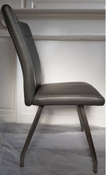 Habufa Aline Anthracite 4 Square legs chair