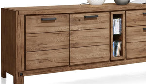 Habufa Maestro and Maitre Sideboards-oak sideboard-Against The Grain Furniture-240-Brown-Wood top-Against The Grain Furniture