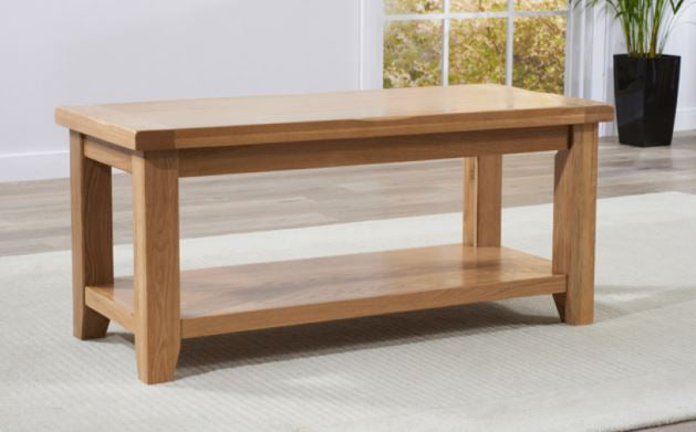 Solid Oak Coffee Table Discontinued range