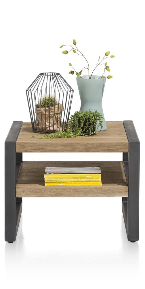 Habufa Brooklyn Side Table-Side Table-Detroit-Against The Grain Furniture