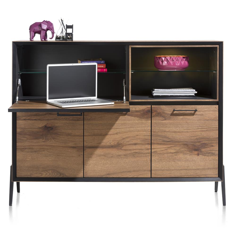 michaeloconnor.co.uk-habufa-janella-dresette-with-desk, Habufa janella dressette desk, Habufa oak dressette desk,