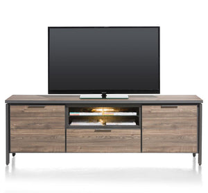 Habufa Madeira Lowboard Media Units in Primo Laminato