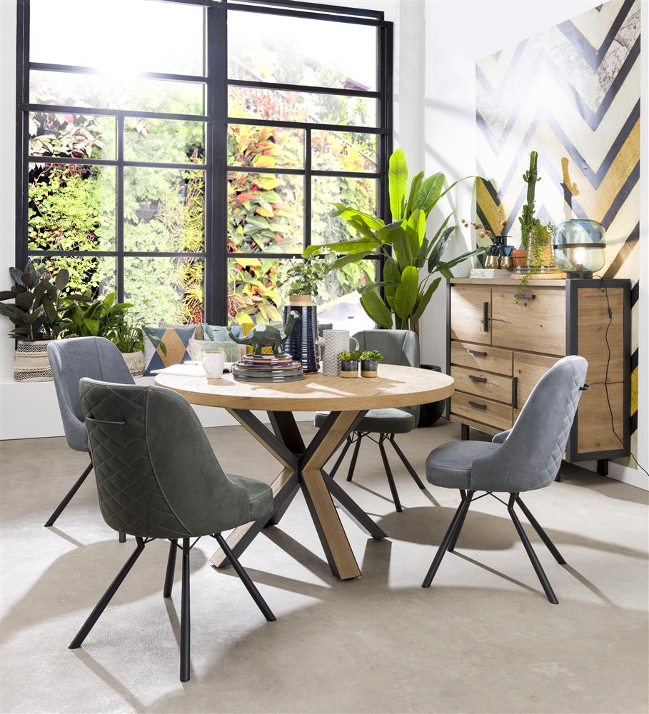 Habufa Eefje Dining Chairs-[Habufa Detroit]-[Furniture Village Detroit]-Taupe-Against The Grain Furniture