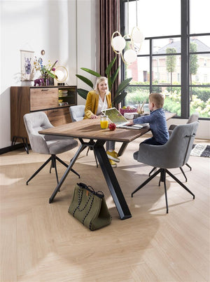 michaeloconnor.co.uk-habufa-janella-fixed-top-dining-table, Habufa Janella table, habufa oak table,