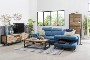 Habufa Brooklyn Lowboard Tv Unit-Tv and Media Unit-Detroit-Against The Grain Furniture