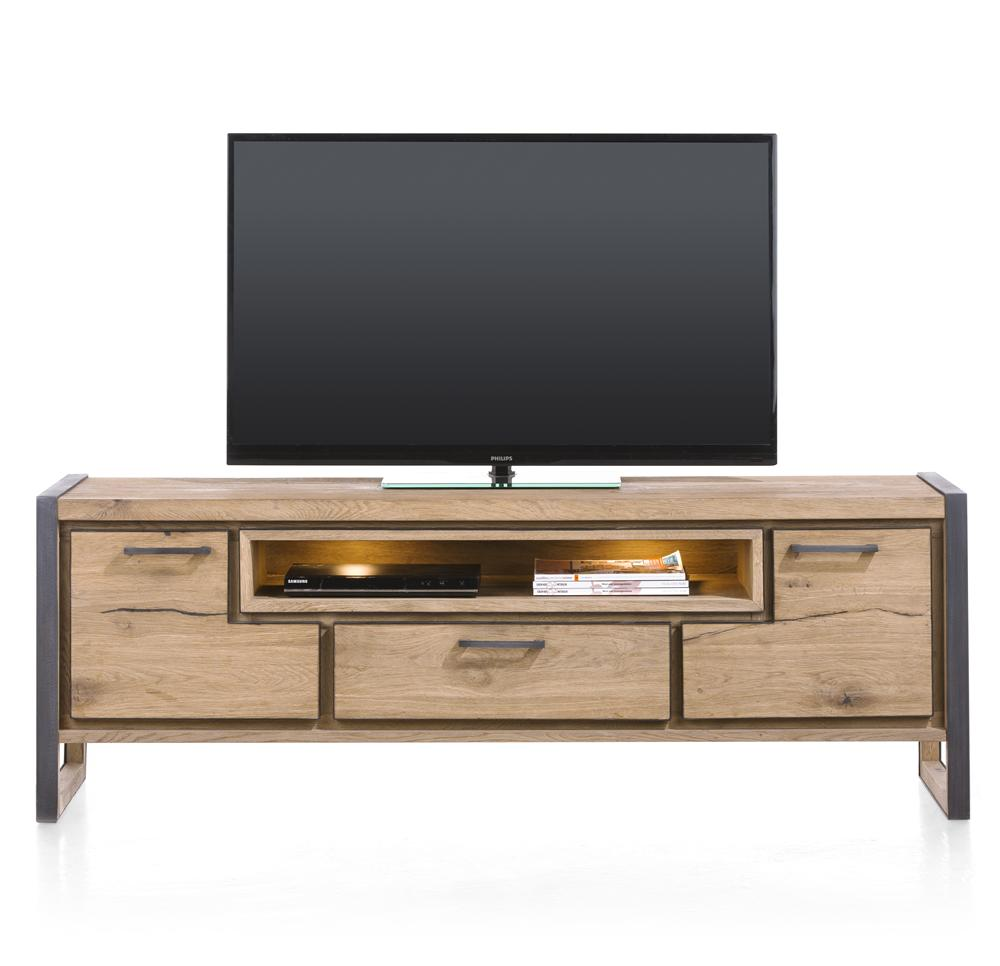 Habufa Metalox Lowboard Tv Unit-[Habufa Detroit]-[Furniture Village Detroit]-170cm-Against The Grain Furniture