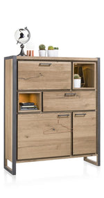 Habufa Metalox Small Display Storage Cabinet-[Habufa Detroit]-[Furniture Village Detroit]-Against The Grain Furniture