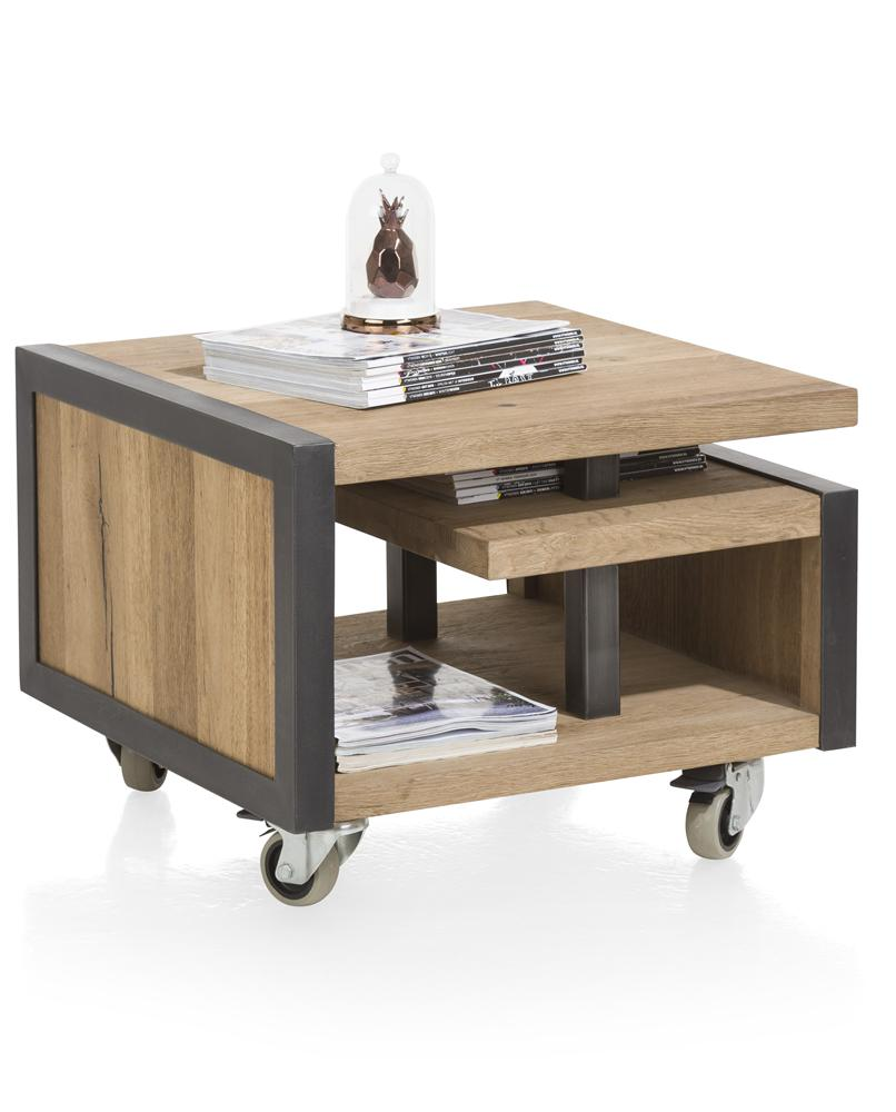 Habufa Metalox Side Tables-[Habufa Detroit]-[Furniture Village Detroit]-With Straight Legs-Against The Grain Furniture