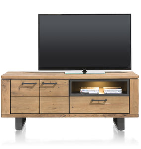 Habufa Quebec Lowboard TV Stands-lowboard media unit-Against The Grain Furniture-[Furniture Village Detroit]-[Habufa Detroit]-[solid wood furniture]-Against The Grain Furniture