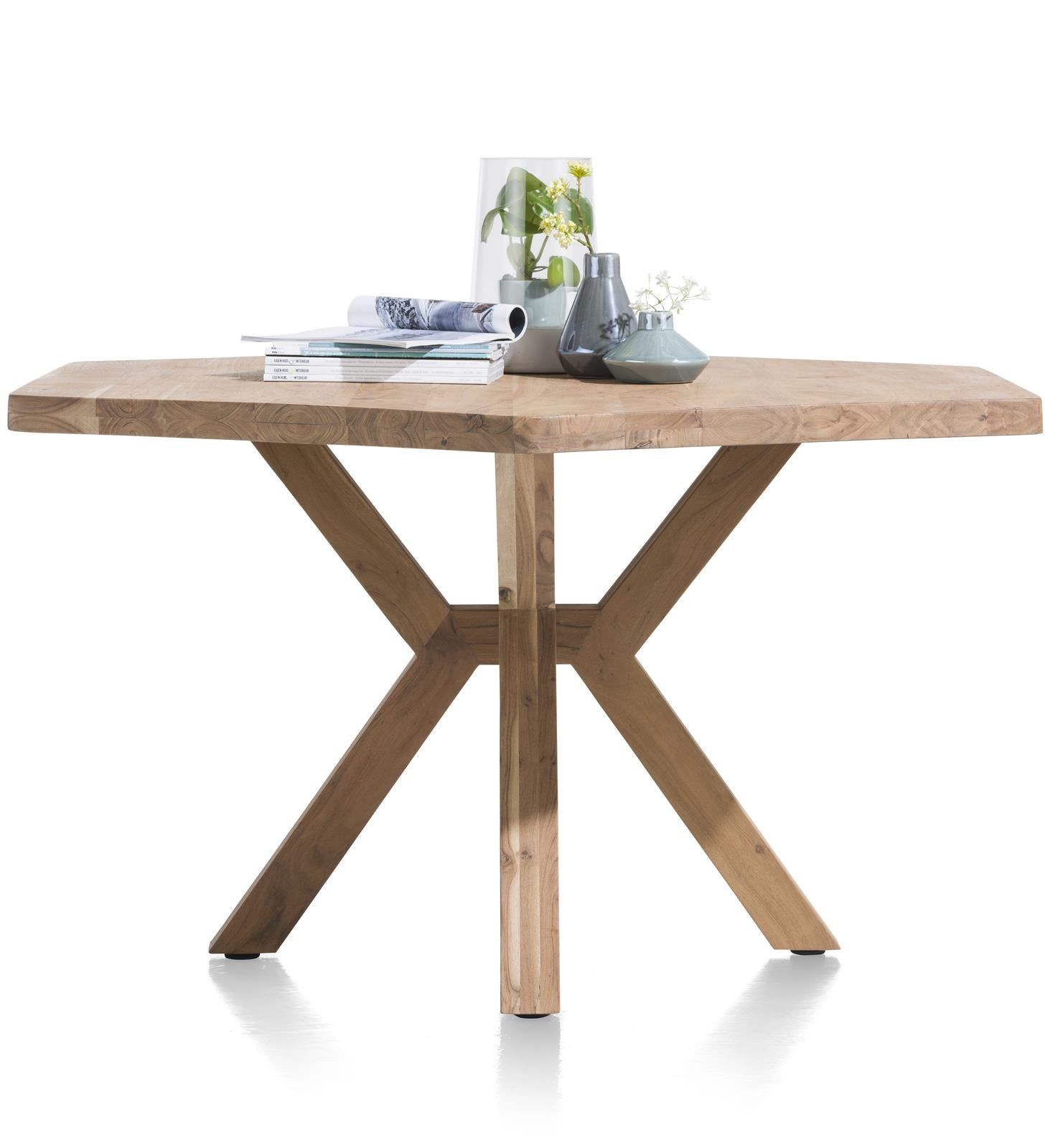 Habufa Quebec Dining tables-lowboard media unit-Against The Grain Furniture-[Furniture Village Detroit]-[Habufa Detroit]-[solid wood furniture]-Against The Grain Furniture