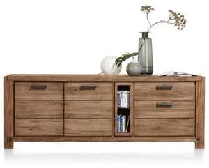 Habufa Maestro and Maitre Sideboards-oak sideboard-Against The Grain Furniture-190-Brown-Wood top-Against The Grain Furniture