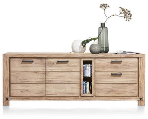 Habufa Maestro and Maitre Sideboards-oak sideboard-Against The Grain Furniture-190-Natural-Wood top-Against The Grain Furniture