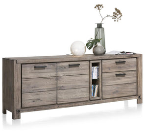 Habufa Maestro and Maitre Sideboards-oak sideboard-Against The Grain Furniture-220-Grey Plumb-Wood top-Against The Grain Furniture