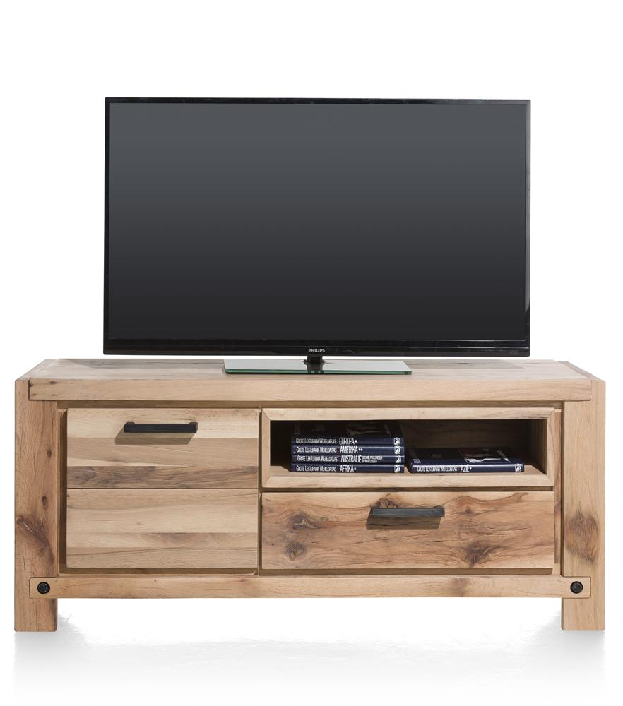 Habufa Maestro and Maitre Lowboard TV Media Cabinets-Lowboard TV cabinets-Against The Grain Furniture-Natural-140-Wooden-Against The Grain Furniture