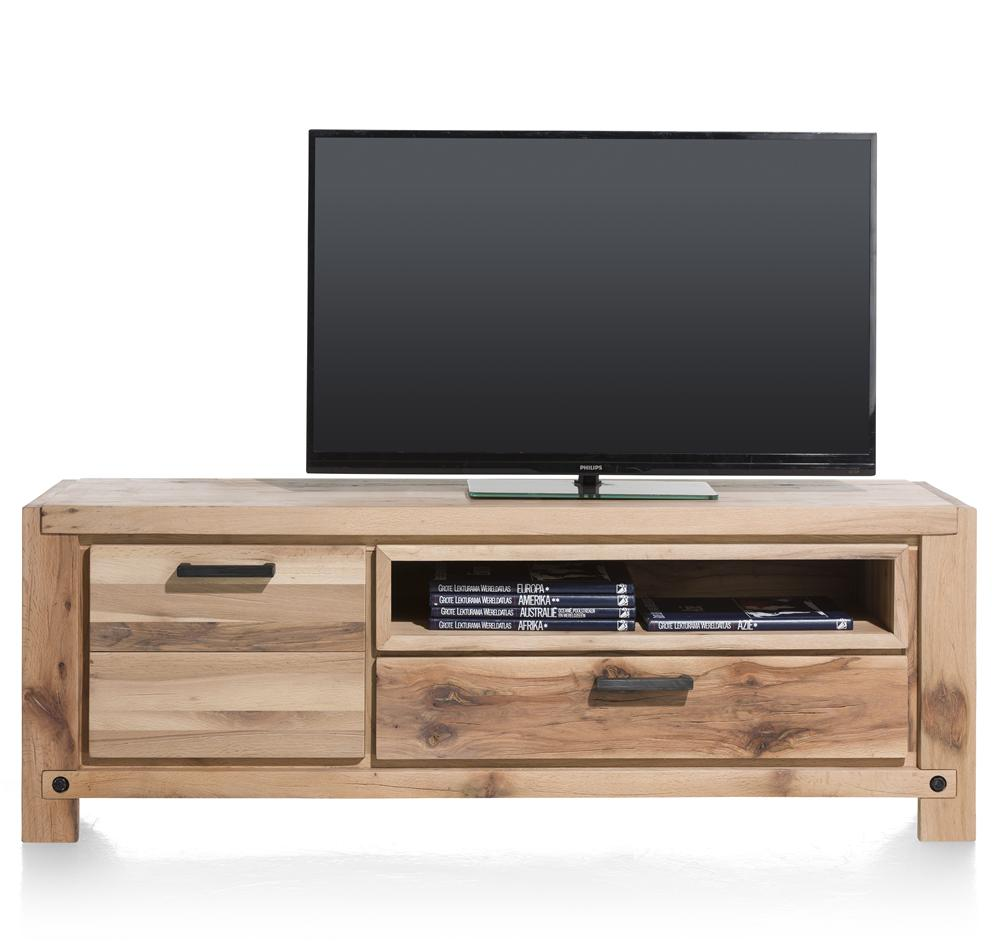 Habufa Maestro and Maitre Lowboard TV Media Cabinets-Lowboard TV cabinets-Against The Grain Furniture-Natural-170-Wooden-Against The Grain Furniture