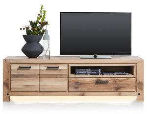 Habufa Maestro and Maitre Lowboard TV Media Cabinets-Lowboard TV cabinets-Against The Grain Furniture-Natural-200-Wooden-Against The Grain Furniture
