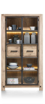 Habufa Maestro and Maitre Display Cabinets-Display cabinets-Against The Grain Furniture-Natural-Against The Grain Furniture