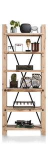 Habufa Maestro and Maitre Bookcase-highboard cabinets-Against The Grain Furniture-Natural-Against The Grain Furniture