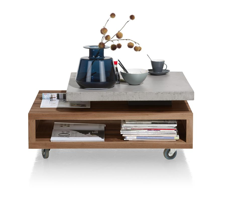 Habufa Maestro and Maitre Turntable Top Coffee Tables