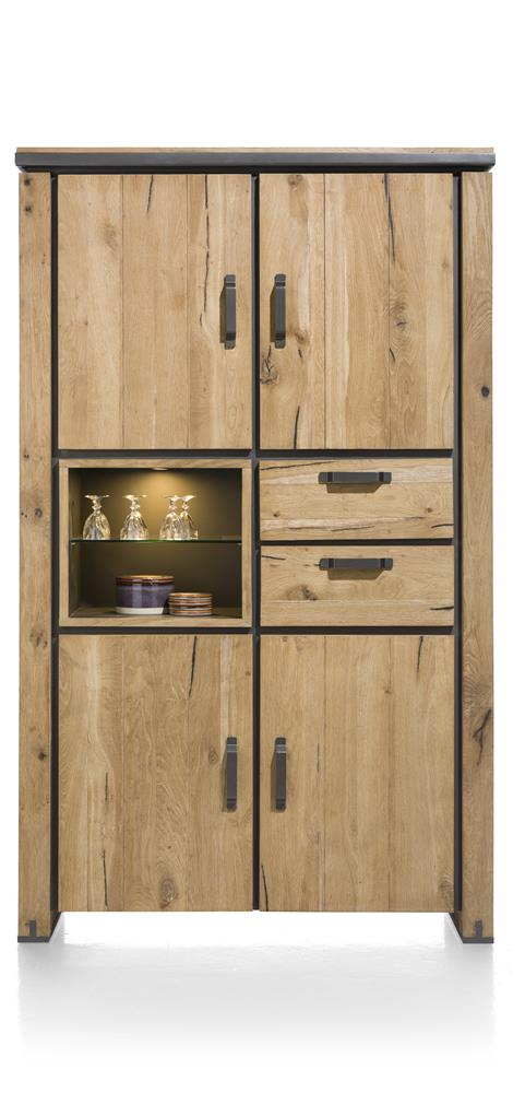 Habufa Farmer and Farmland Highboard Storage Cabinet.-[Habufa baltimore]-[Furniture Village Baltimore]-Against The Grain Furniture