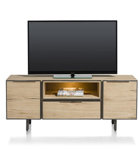 Habufa Pedro Oak Lowboard-TV lowboards-habufa sox-1.50-Against The Grain Furniture