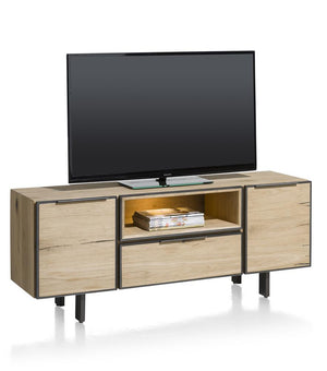 Habufa Pedro Oak Lowboard-TV lowboards-habufa sox-Against The Grain Furniture