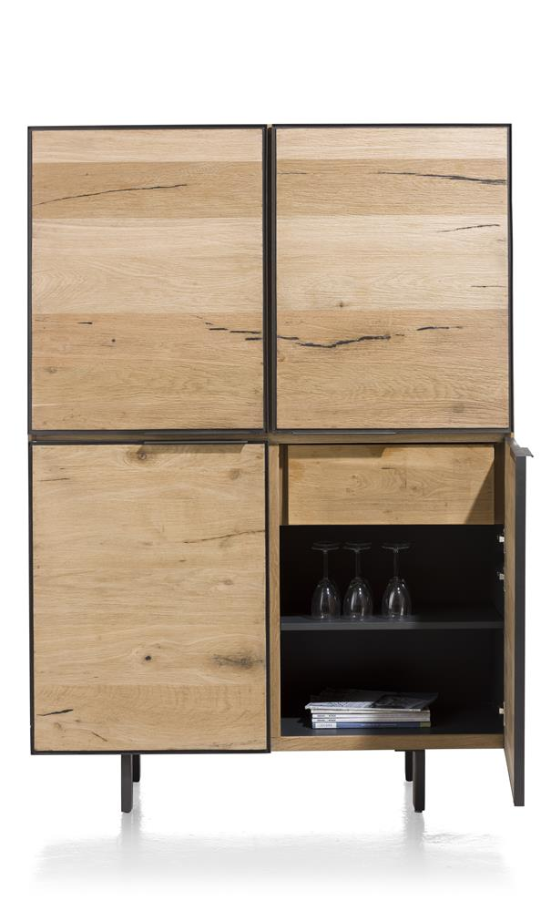 Habufa Pedro Oak Storage Cabinet-TV lowboards-habufa sox-Against The Grain Furniture