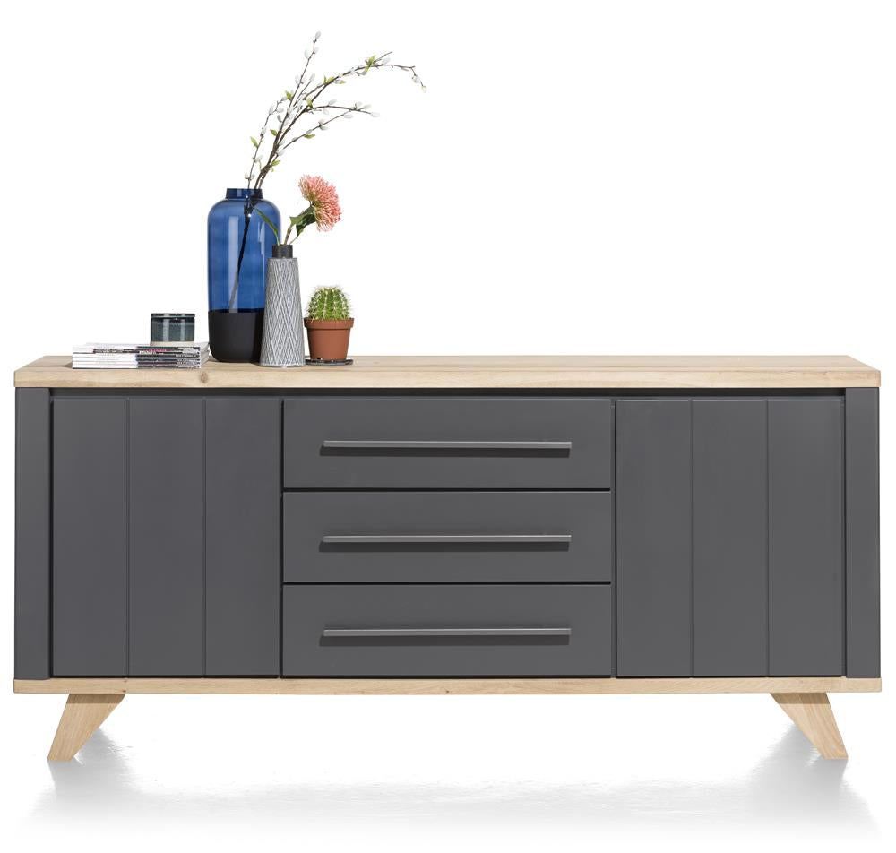 Habufa Jardin Sideboards-Sideboard-Against the Grain Furniture-190cm-Grey-Against The Grain Furniture