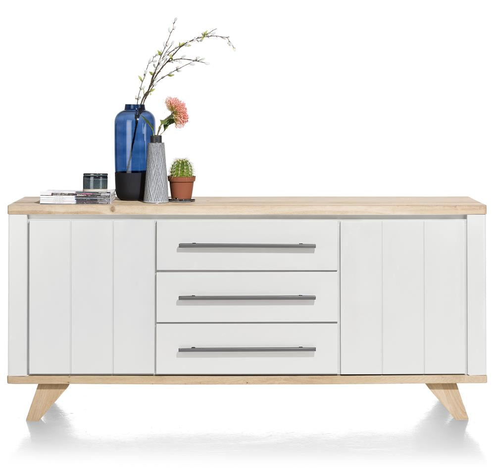 Habufa Jardin Sideboards-Sideboard-Against the Grain Furniture-190cm-White-Against The Grain Furniture