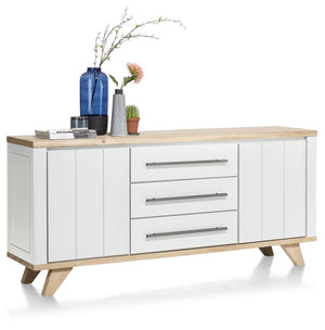 Habufa Jardin Sideboards-Sideboard-Against the Grain Furniture-160cm-White-Against The Grain Furniture