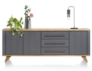 Habufa Jardin Sideboards-Sideboard-Against the Grain Furniture-230cm-Grey-Against The Grain Furniture