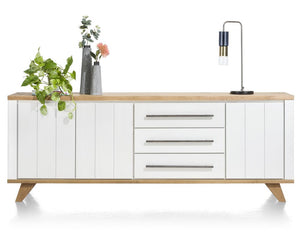 Habufa Jardin Sideboards-Sideboard-Against the Grain Furniture-230cm-White-Against The Grain Furniture