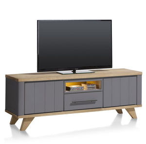 Habufa Jardin Lowboards-TV lowboards-Against the Grain Furniture-140cm-Grey-Against The Grain Furniture
