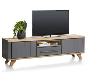 Habufa Jardin Lowboards-TV lowboards-Against the Grain Furniture-170cm-Grey-Against The Grain Furniture