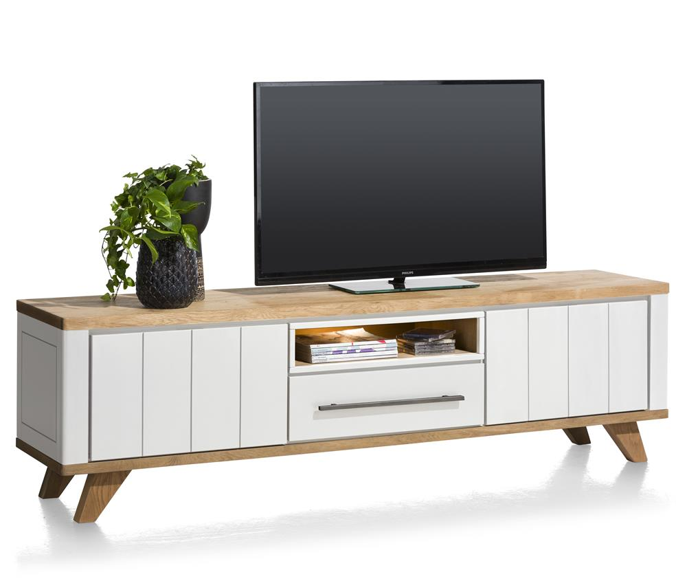 Habufa Jardin Lowboards-TV lowboards-Against the Grain Furniture-210cm-White-Against The Grain Furniture
