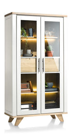 Habufa Jardin Glass Display Cabinet-Display cabinets-Against the Grain Furniture-Against The Grain Furniture