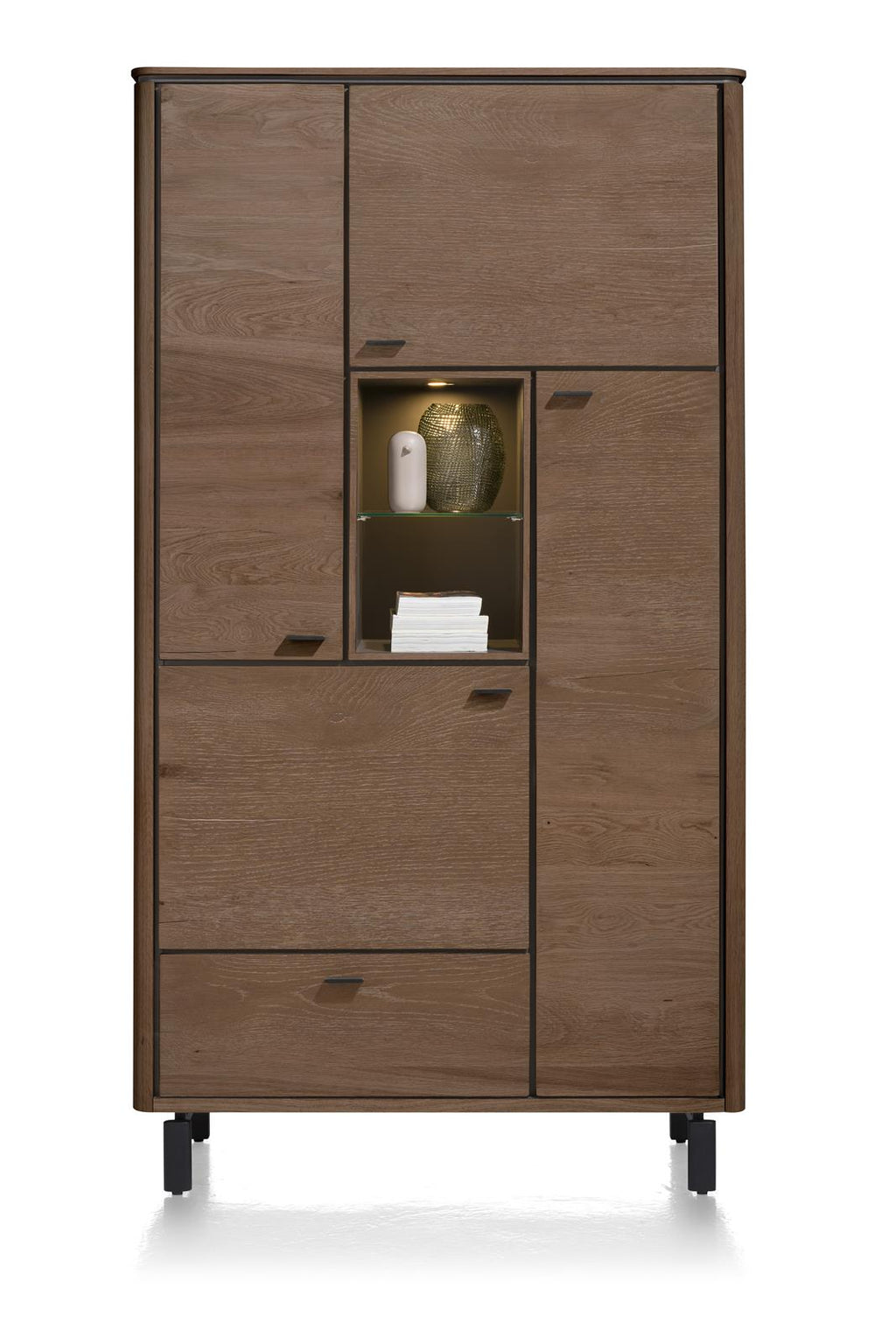 Livada Moreni Bespoke Tall Storage Cabinet in Four Colours