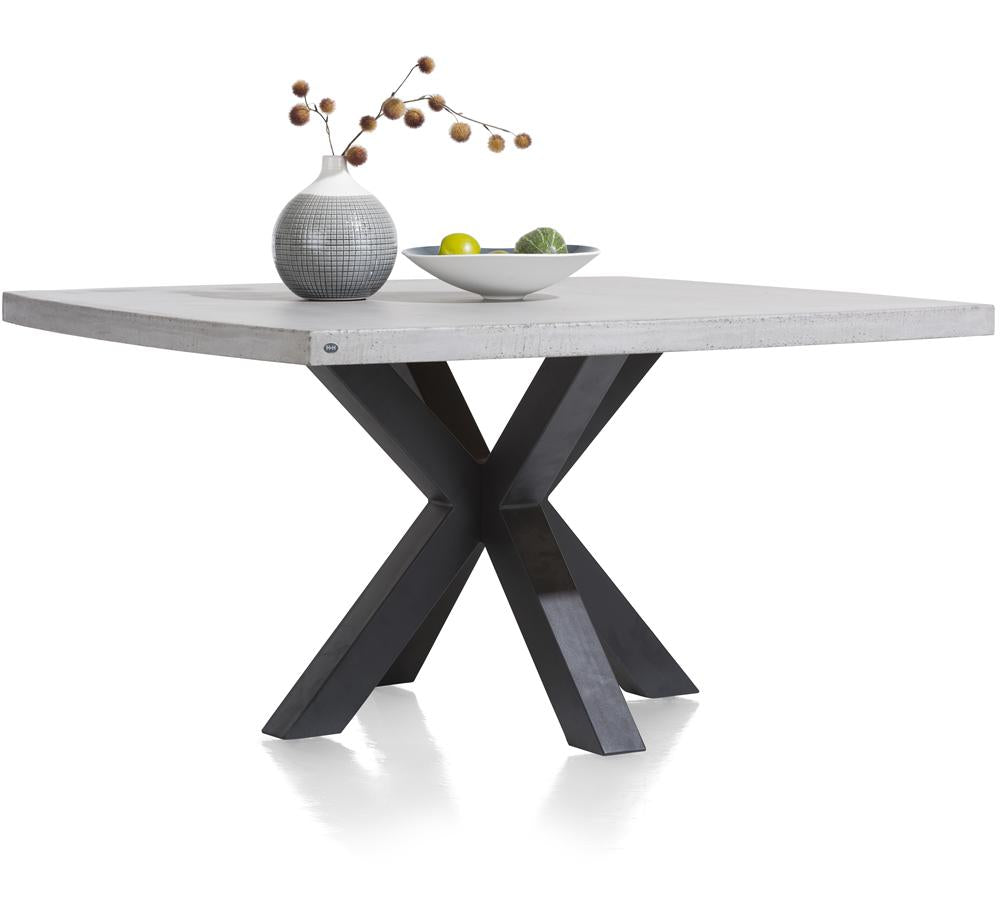 Habufa Maestro and Maitre Concrete Tables With Metal or Oak Legs