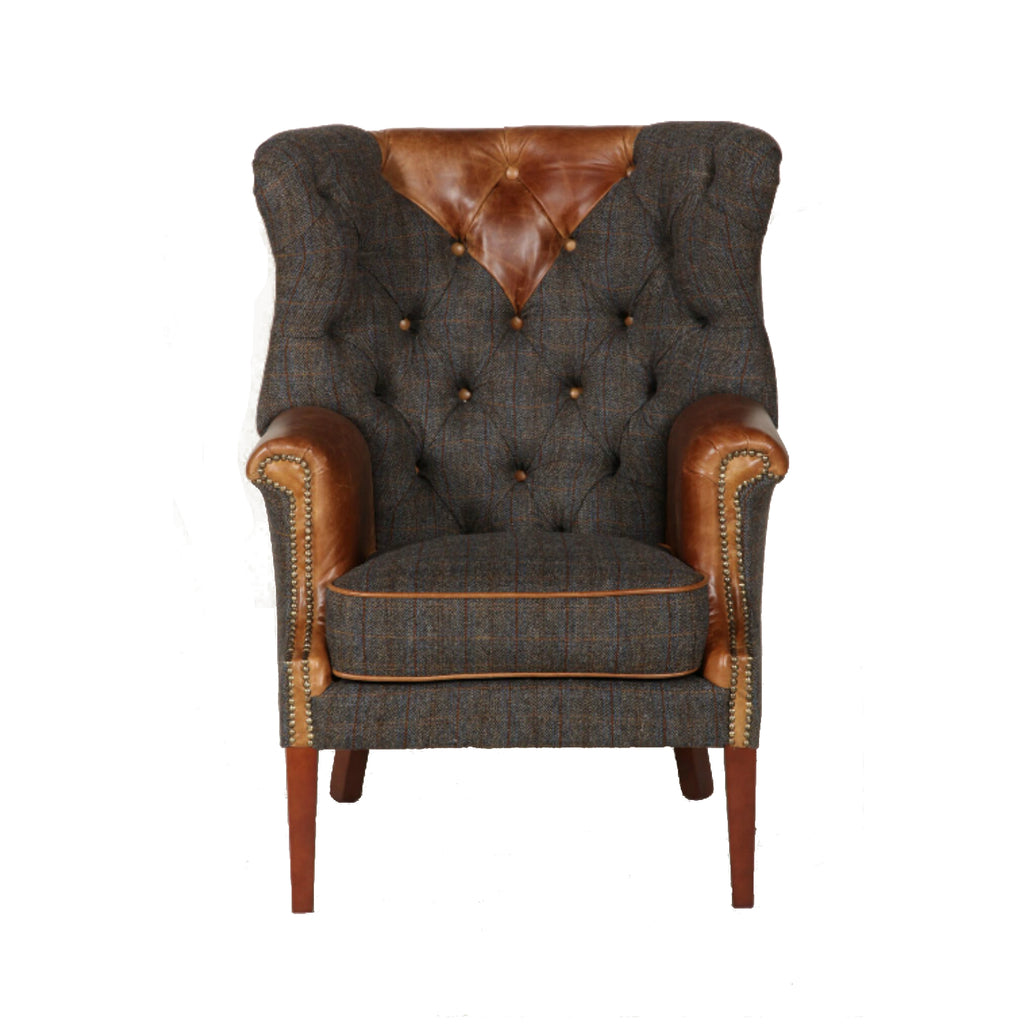 vintage sofa Kensington accent chair
