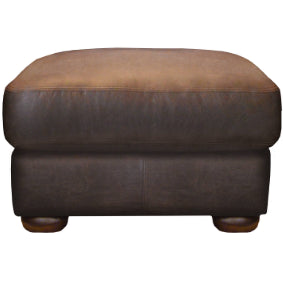 Discontinued Fabrics and Leathers on Madison sofas-Sofas-john lewis-stool 64 cm-Tan Semi Aniline-Against The Grain Furniture