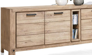 Habufa Maestro and Maitre Sideboards-oak sideboard-Against The Grain Furniture-240-Natural-Wood top-Against The Grain Furniture